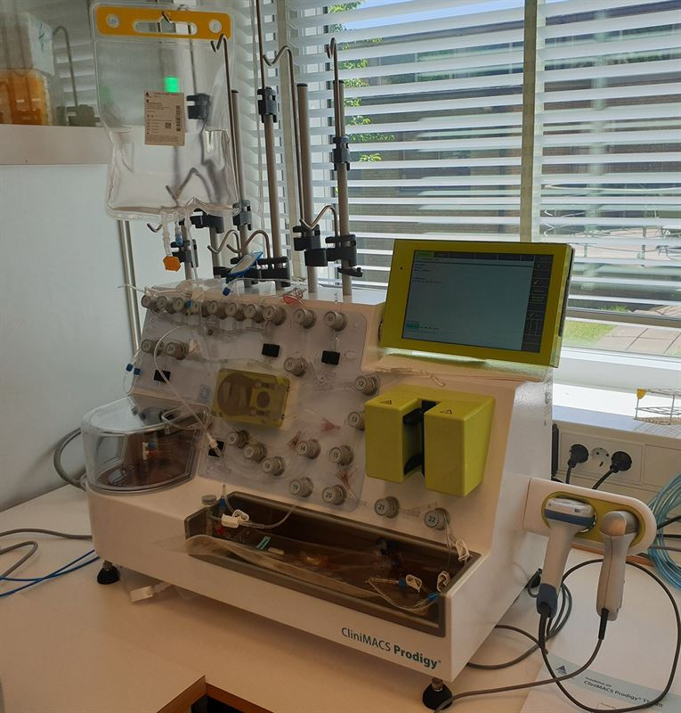 Bioreaktor CliniMACS Prodigy inkpt fr Lundbergsmedel