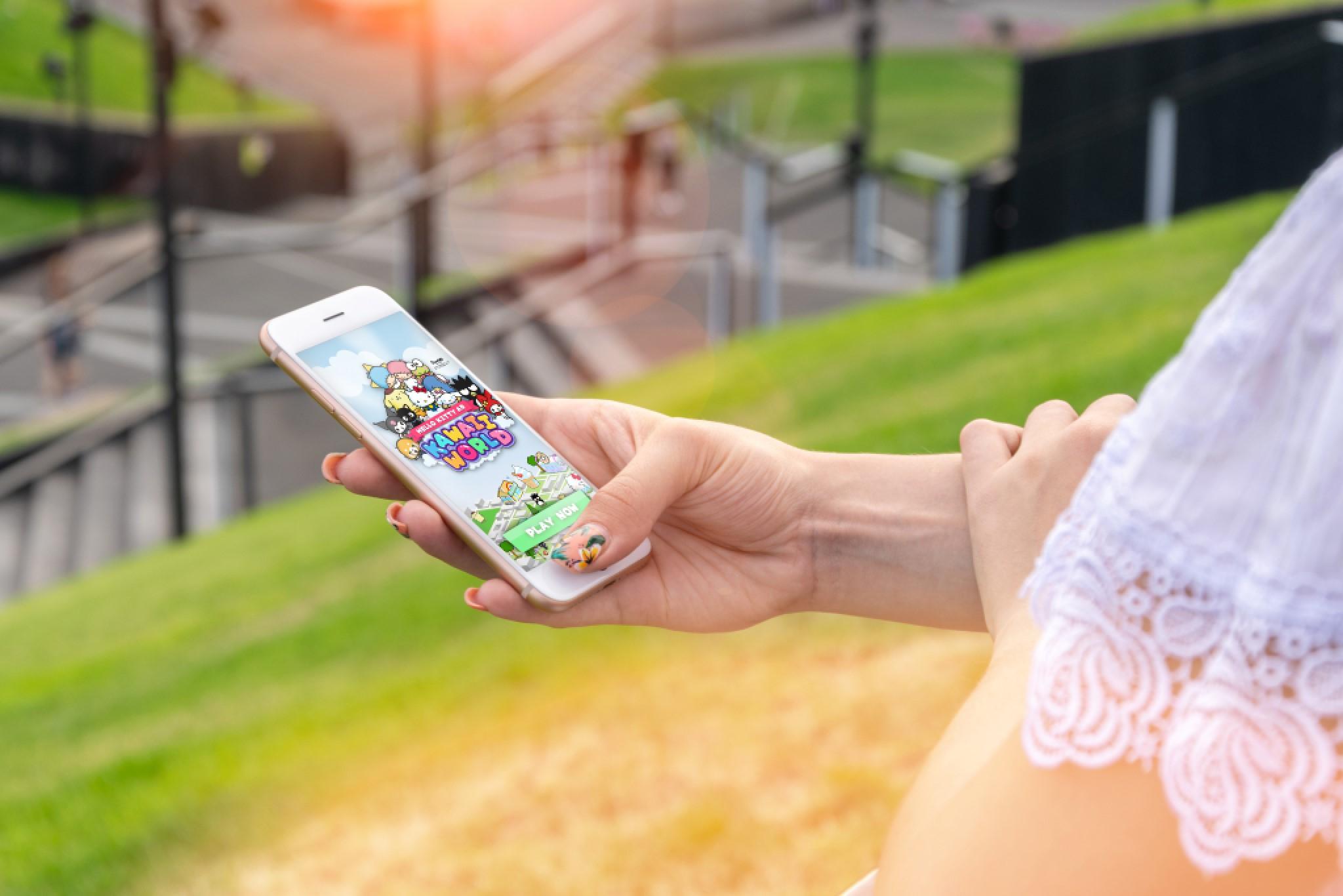 Bublar Group ingår samarbete med Google Maps Platform för augmented reality-spelet Hello Kitty AR Kawaii World