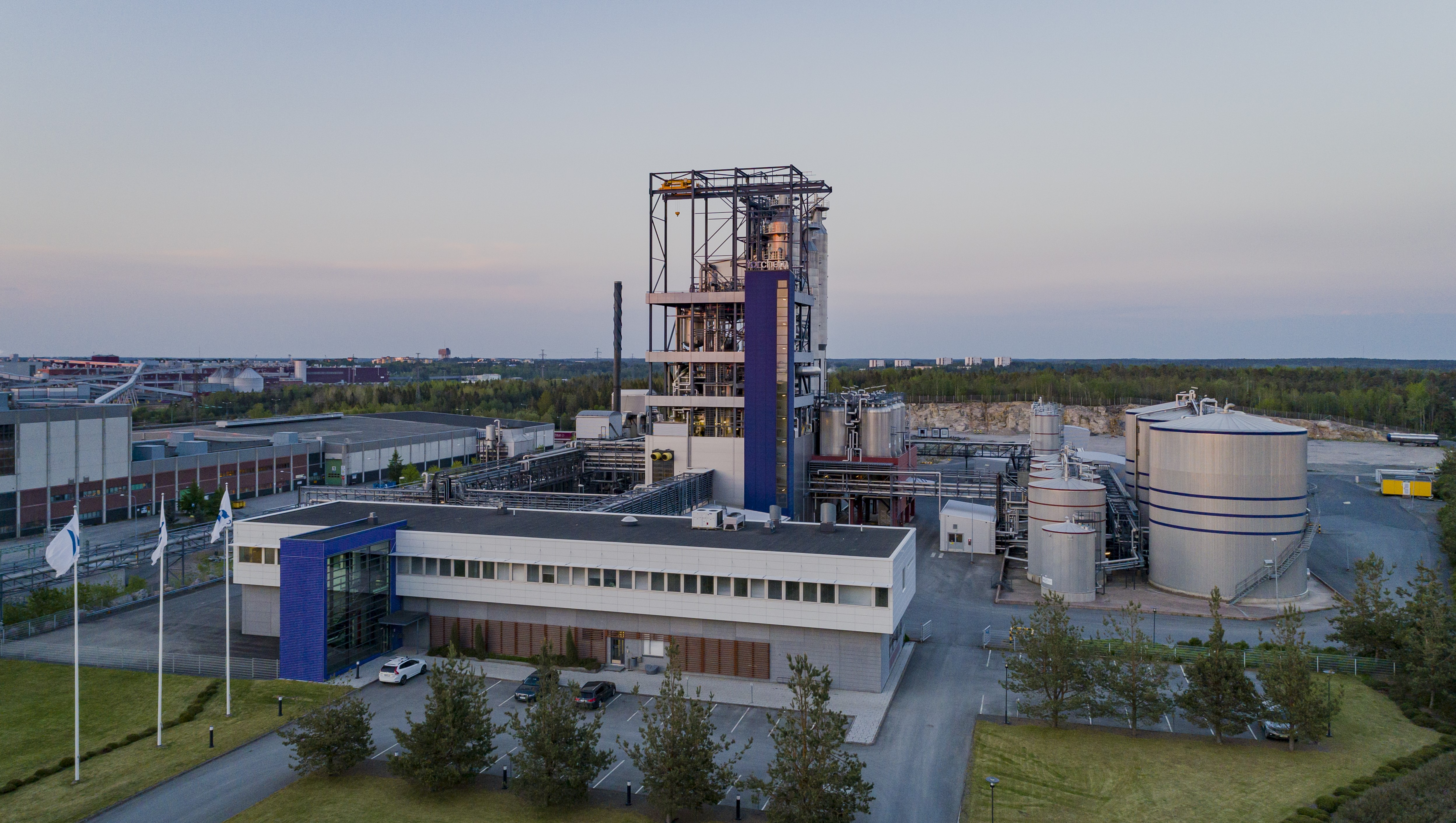 Tall City Delivery >> The Finnish Cleantech Company Forchem Switches To Lng The