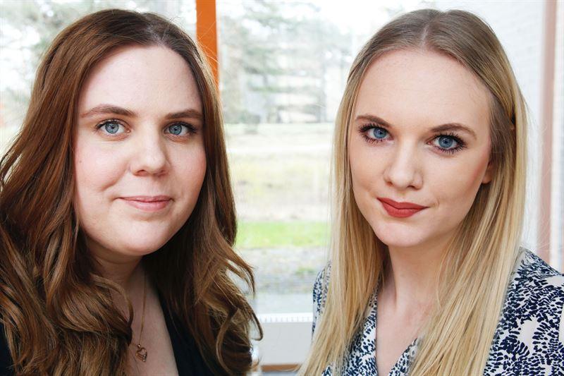 Amanda Karlsson och Linna Bohlin