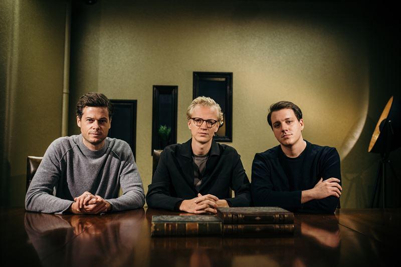 Pelle Porseryd PodMe med Carl Fridsj och Joel Silberstein Hont Just Stories