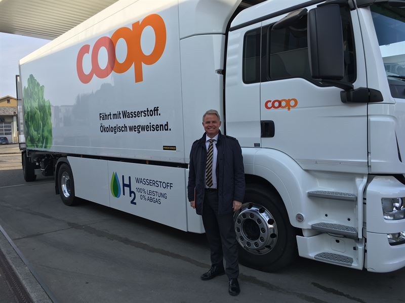 PowerCell has delivered fuel cell stack as Coop in Switzerland