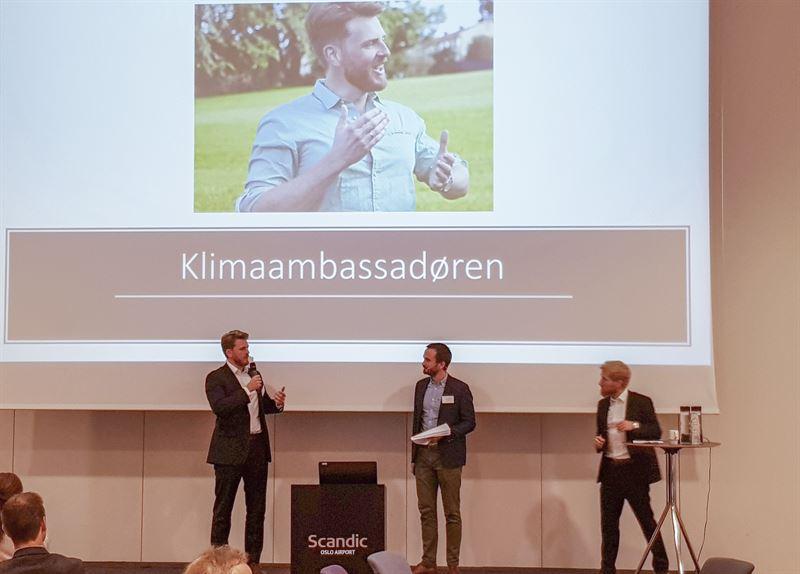 Stian Mathisen klimaambassadr Energi Norge