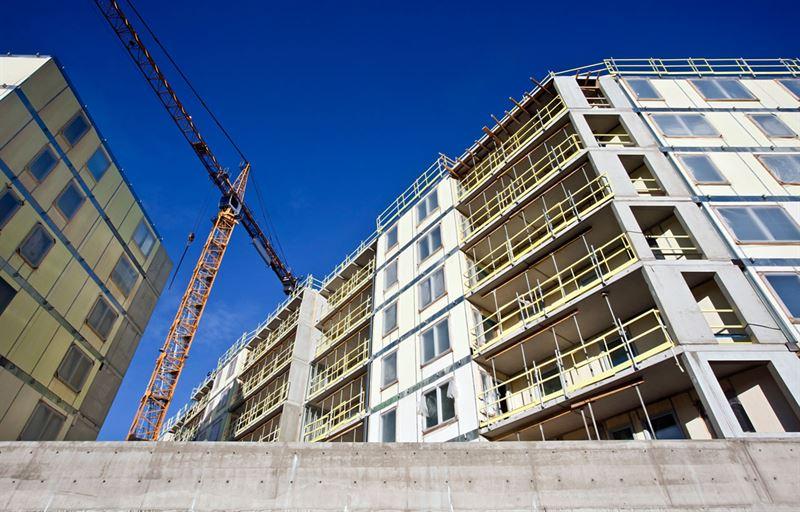 Nybyggnation i storstad