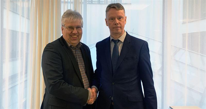 Stefan Andersson KPMG Sverige och Pertti Ojala KPMG Finland