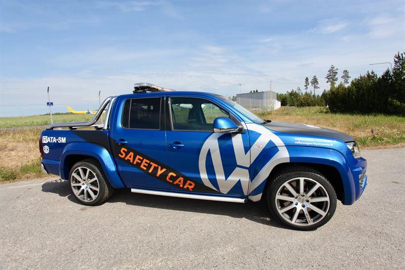 Volkswagen Amarok Safety Car (Kuva:AKK)