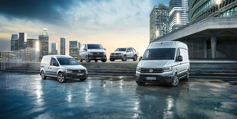 Volkswagen Hyötyautot mallisto