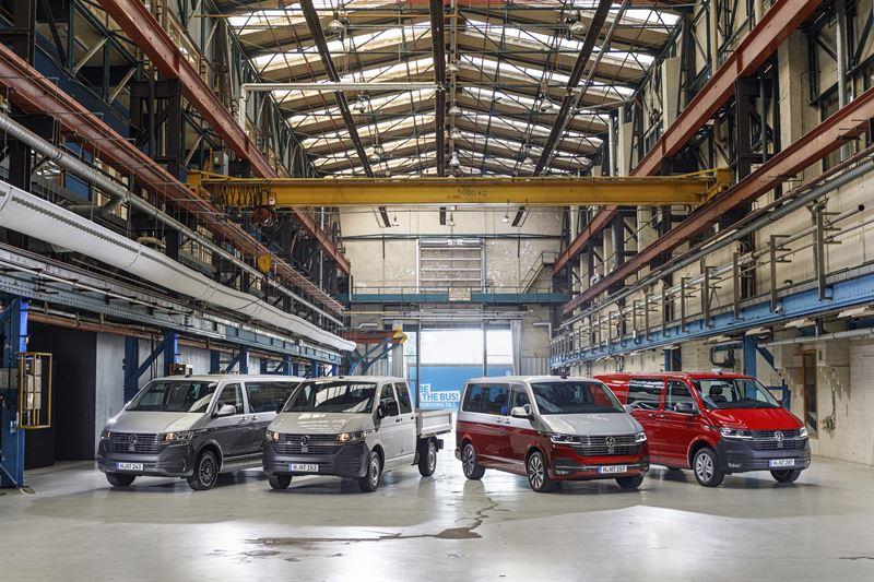 Volkswagen T6.1 -mallisto