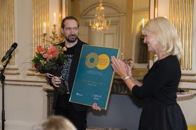 Låtskrivaren Oscar Holter får regeringens musikexportpris