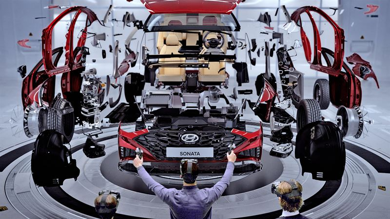 Hyundai Motor Company Debut Virtual Reality Vr Design Evaluation System Hyundai Motor Baltic