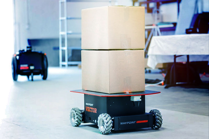 Waypoint Robotics utvecklar kraftfulla industrirobotar