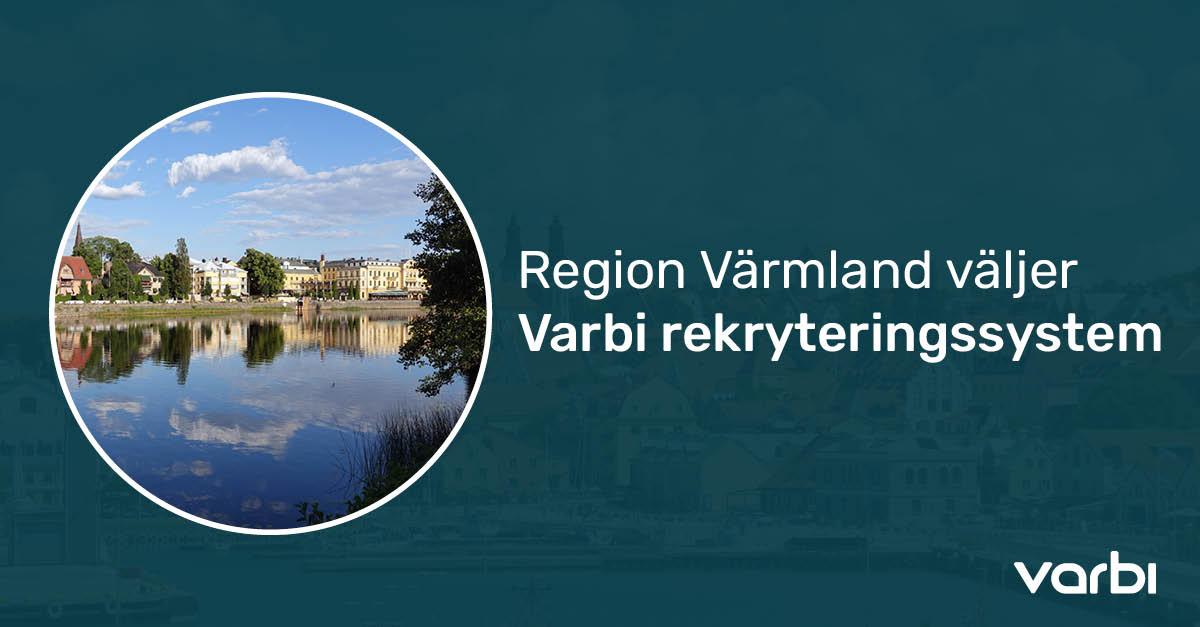 Region Värmland väljer Varbi rekryteringssystem