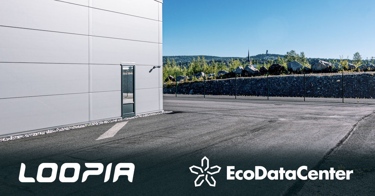Loopia chooses EcoDataCenter for sustainable data center services
