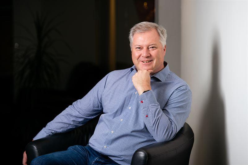 Stefan Rex tilltrdande vd Contractor Sundsvall