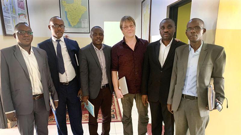 Mte p Energiministeriet i Burundi
