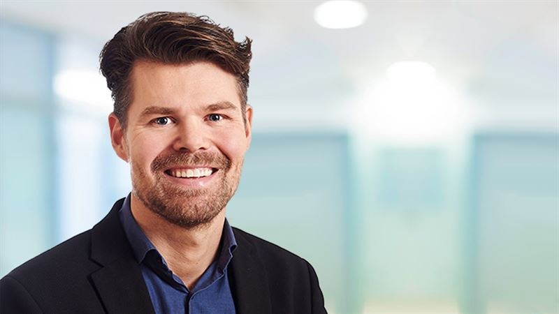 Simon Jansson energichef p Ramboll i Sverige