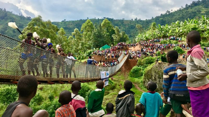Broprojekt i Uganda 2018