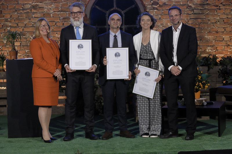 Vinnare av Sigge Thernwalls pris 2018