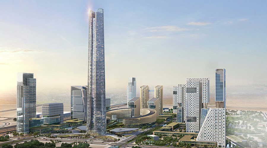 KONE to equip the tallest building in Africa, Iconic Tower, in Egypt's New  Administrative Capital (2) - KONE Corporation