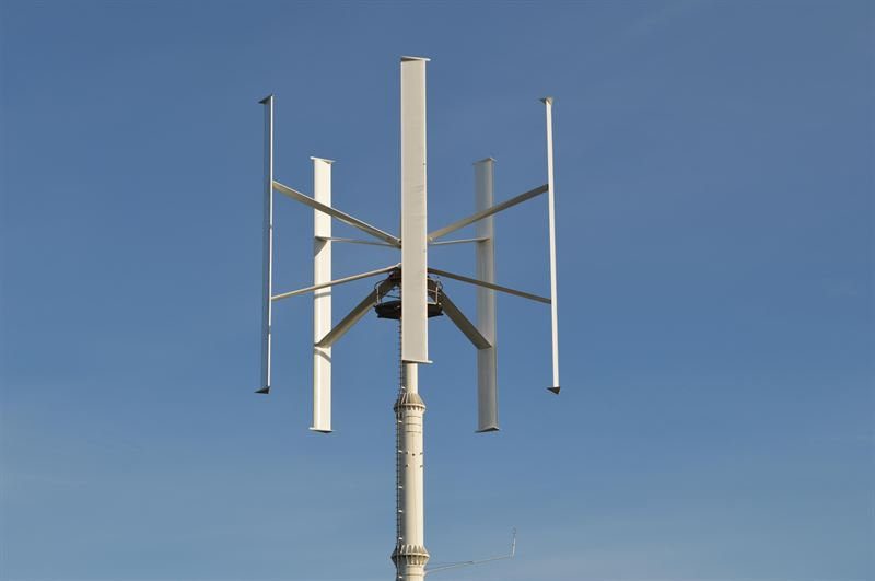 Siemens Helps Make Vertical Axis Wind Turbine a Reality - Siemens Process  Industries and Drives