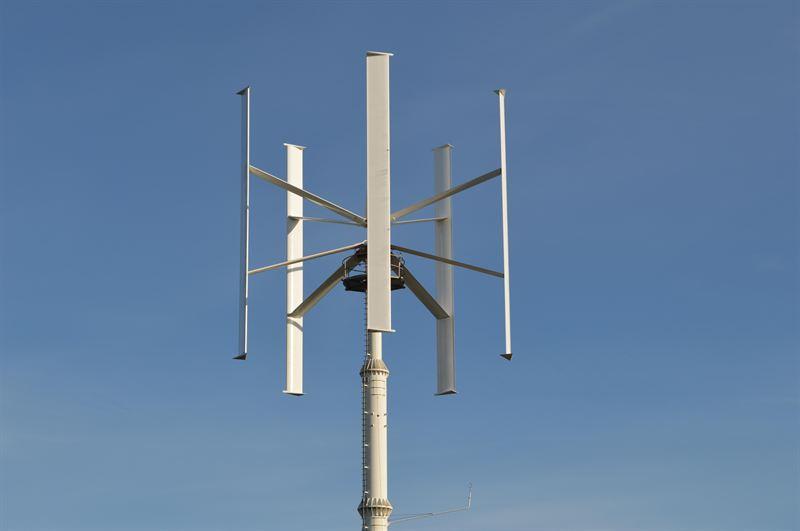 Siemens Helps Make Vertical Axis Wind Turbine a Reality
