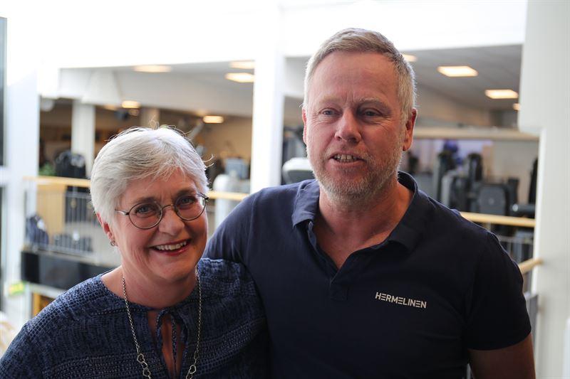 PerErik Mattsson och Lisbeth Engelmark
