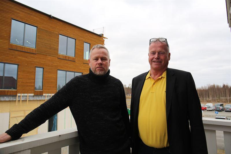 PerErik Mattsson vd Hermelinen och Erik Svensson vd Boden Business Agency