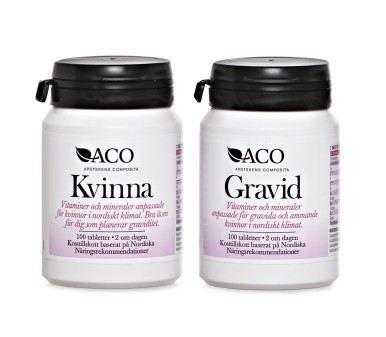 vitamin kvinna gravid