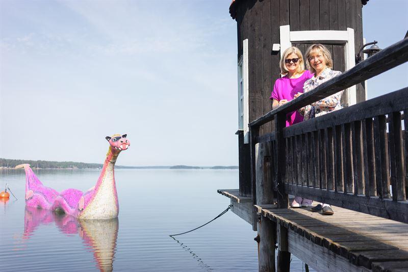 Koskinen ja Kähkönen kertovat muovikierrätyksen sopivan sekä Muumimaailman että Kiillon arvoihin.