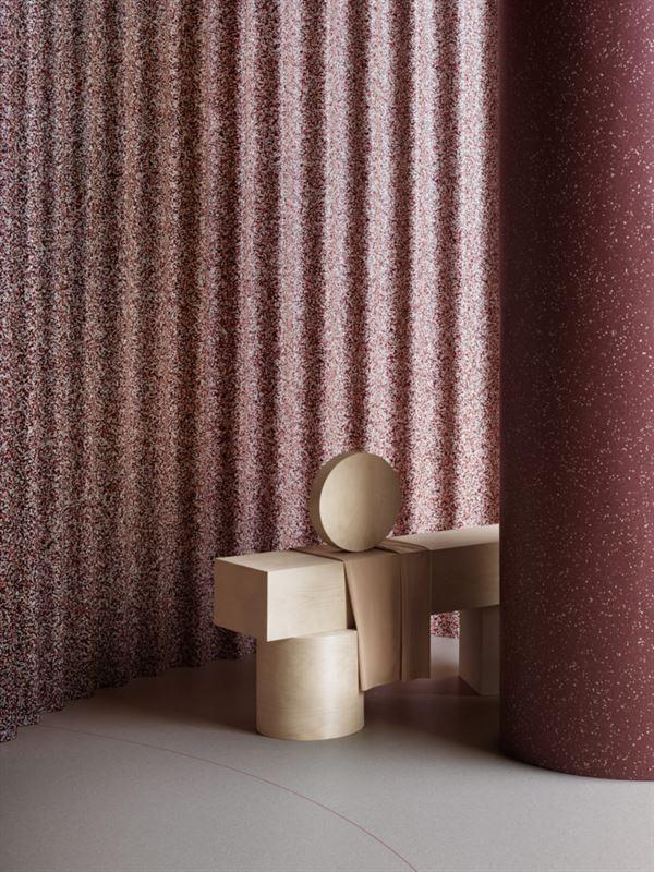 iQ Surface p vgg pelare och golv  ett material med kreativa mjligheter