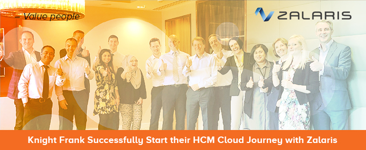 Knight Frank Successfully Start their HCM Cloud Journey with Zalaris