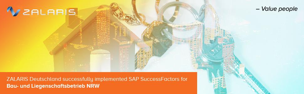 Bau- und Liegenschaftsbetrieb NRW setzt bei der Personalbeschaffung auf SAP SuccessFactors.