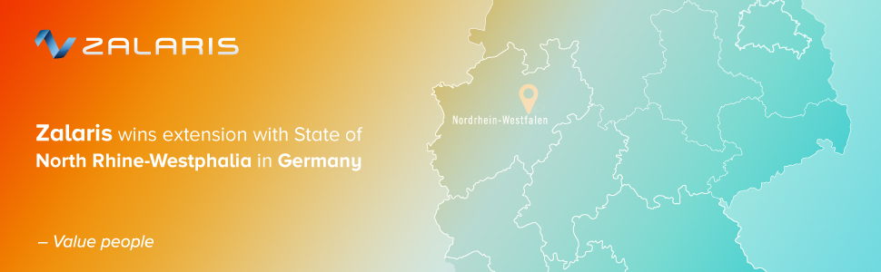 Zalaris wins extension of SAP Application Management Services agreement with State of North Rhine-Westphalia in Germany