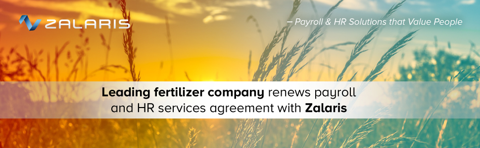Leading fertilizer company renews payroll and HR services agreement with Zalaris