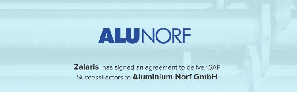 Zalaris to deliver SAP SuccessFactors to Aluminium Norf GmbH