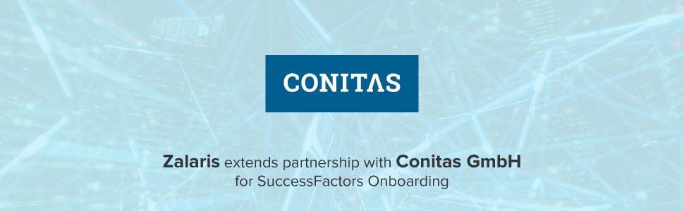 Zalaris to deliver SAP SuccessFactors Onboarding to Conitas GmbH