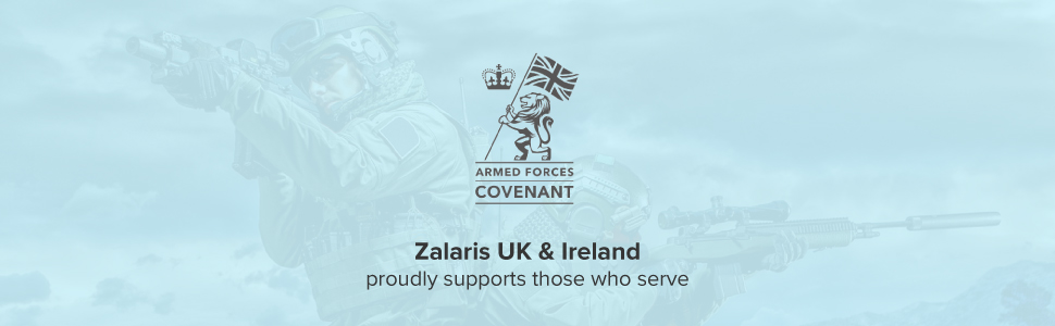 Zalaris UK & Ireland is Supporting the Armed Forces community!