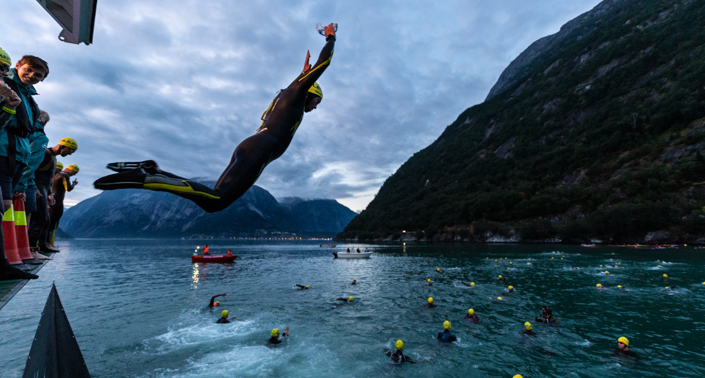 Zalaris präsentiert sein Team für den Norseman Xtreme Triathlon - demhärtesten Triathlon der Welt