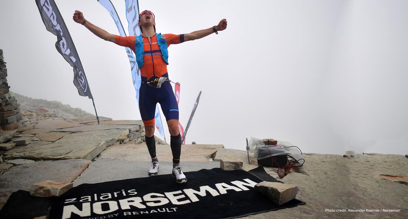 #teamZalaris Triatlet ist der Champion des Norseman Xtreme - bekannt als der härteste Triathlon der Welt