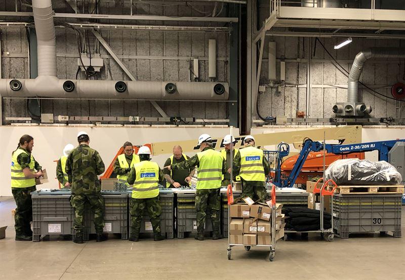 Locum och Frsvarsmakten bygger nytt fltsjukhus p Stockholmsmssan