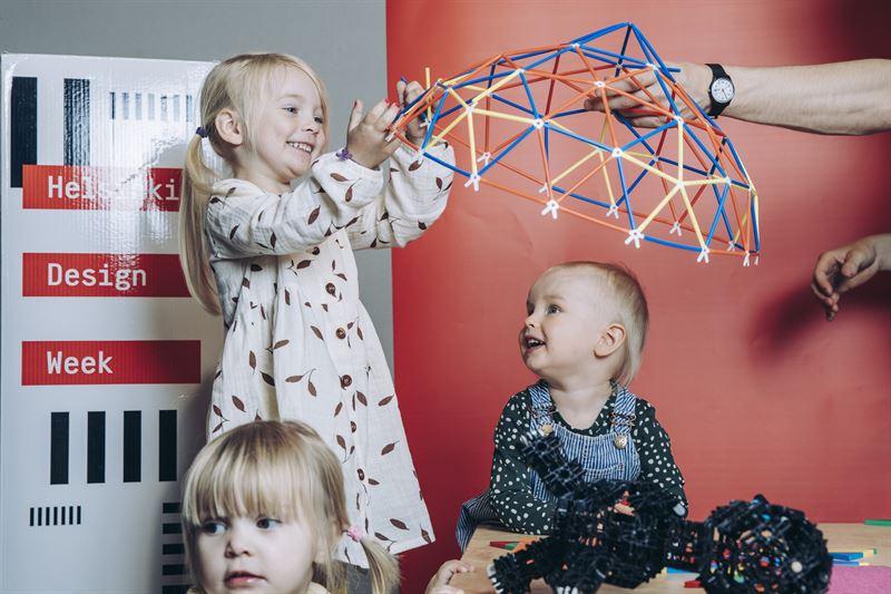 Kids at Helsinki Design Week