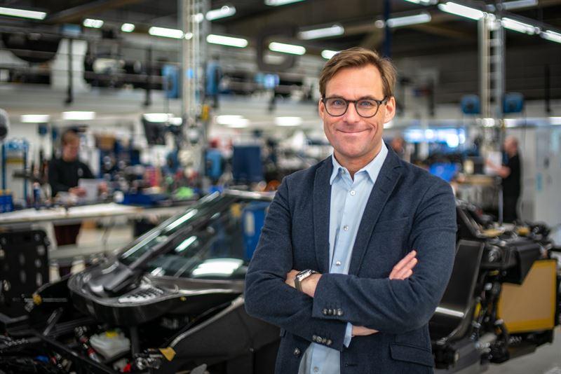 Sales  Marketing Director Koenigsegg Automotive AB