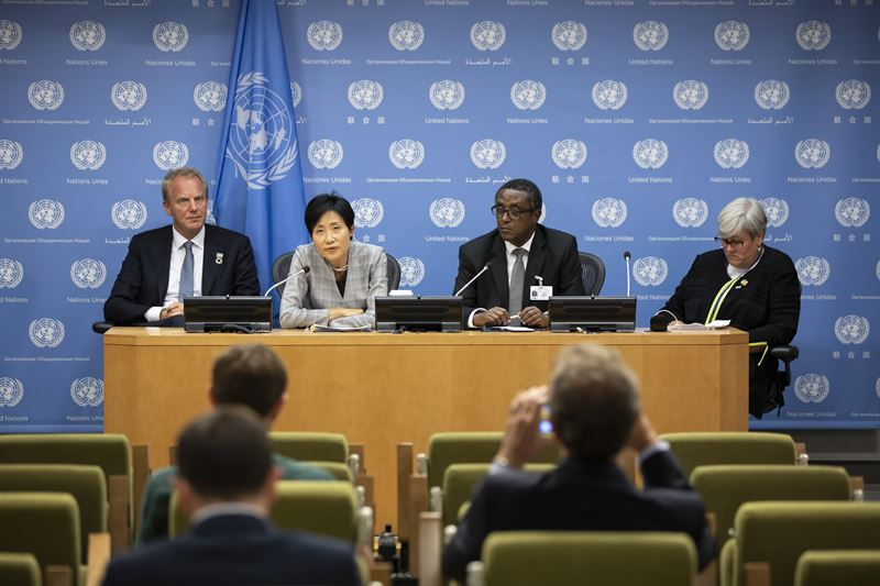 Jonas Samuelson at UN in September 2019