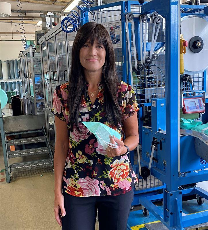 Maria Larsson, fabrikschef Electrolux Filter AB