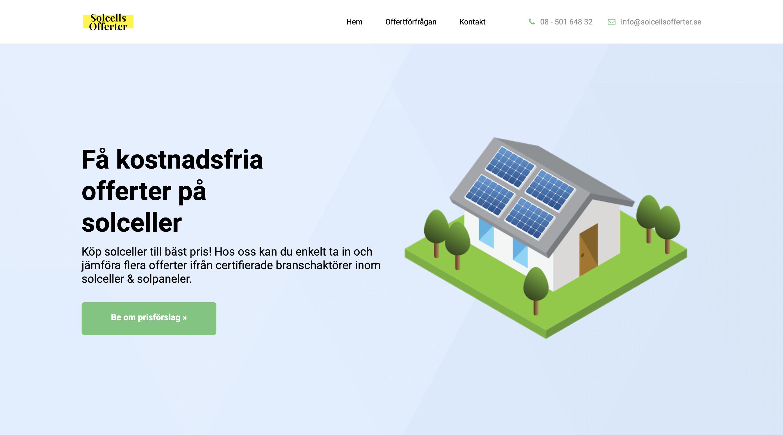 Ny tjänst hjälper Sverige gå över till grönare el