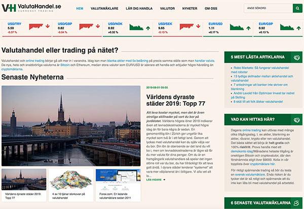 Techbull Media lanserar valutahandel.se