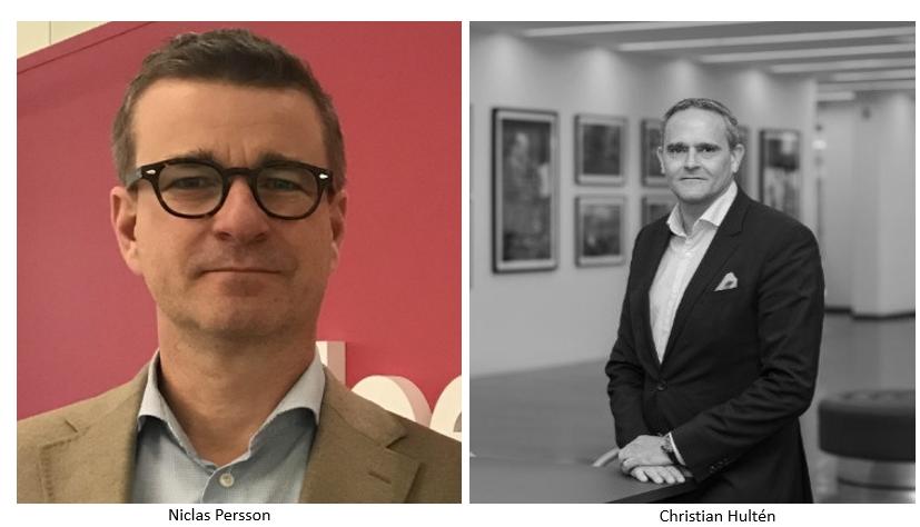 Niclas Persson och Christian Hultén investerar i HR-Techbolaget JobAgent
