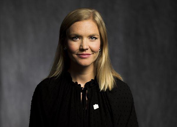Sarah Scheller generalsekreterare, fotograferad av Sanna Sjöswärd