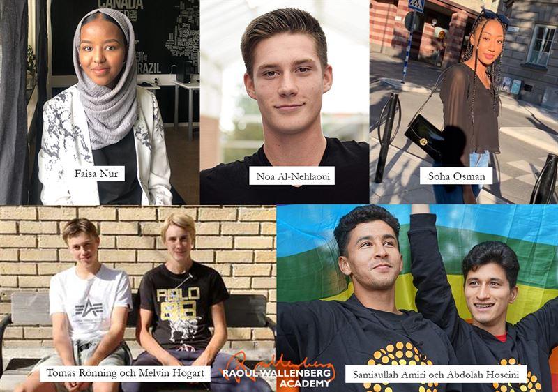 Alla vinnare av priset Ungt Kurage 2020