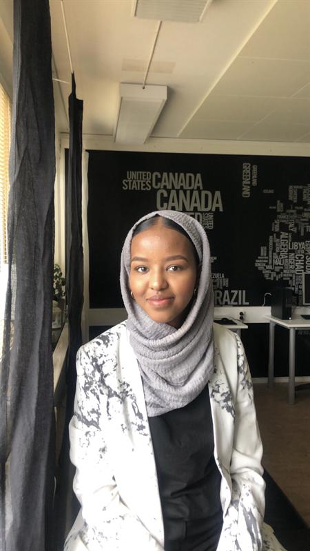 Faisa Nur, vinnare av Ungt Kurage 2020